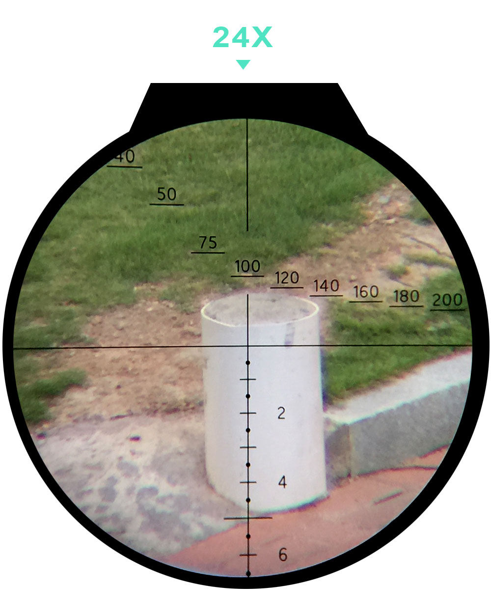 ohhunt FFP 6-24X50 SF First Focal Plane Scope Side Parallax Glass Etched Reticle Lock Reset Hunting Tactical Optical Riflescopes (6)
