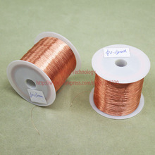 (100Grams/lot) Polyurethane Enameled Copper Wire Diameter 0.13MM Varnished Copper Wires QA-1/155 2UEW Transformer Wire Jumper(China)