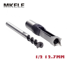 Wood Drill Bit 12.7mm/ 1/2 For Mortise Tenon Woodworking Square Hole Mortising Chisel Set Power Tools Herramientas Ferramentas