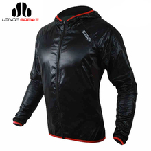 SOBIKE WINDOUT Super light SPTex Waterproof ROCIA Mesh Keep Warm Hooded Cycling Cycle Jacket Wind Rain Coat Raincoat-The Flash