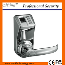 Hot Sale Good Quality Adel3398 Silver Hotel Fingerprint Lock Door Access Control System