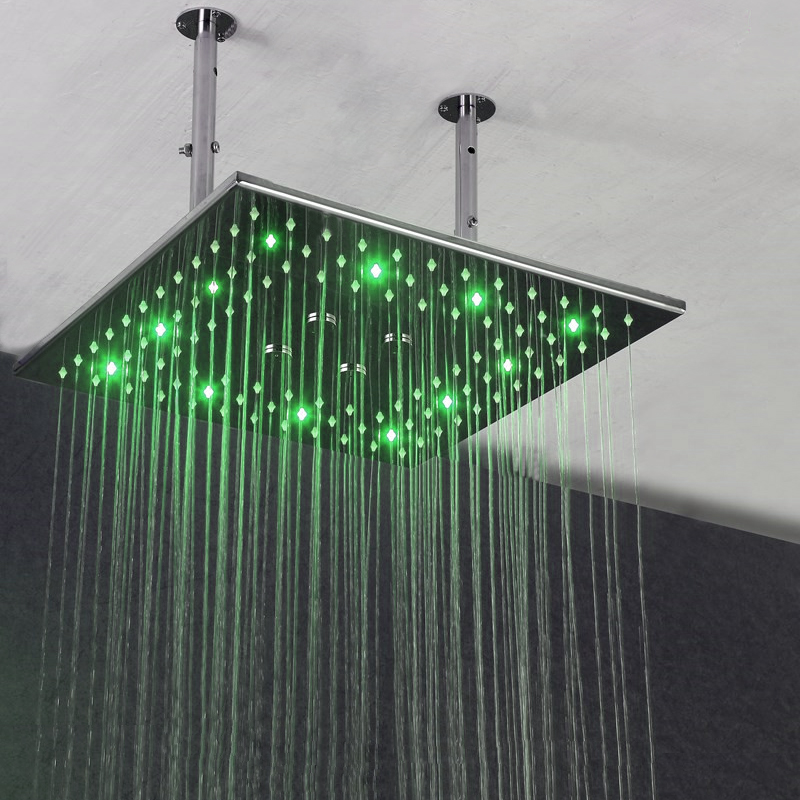 green 2 shower