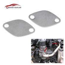 KKmoon Pair of EGR Valve Blanking Block Plates Kit for RENAULT ESPACE LAGUNA MASTER TRAFIC VAUXHALL MOVANO 2.2 2.5 dCi(China)
