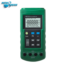 Platinum Resistance Temperature Detector RTD Calibrator Source Simulate Measure 7RTD Ohm MS7222(China)