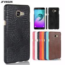 Buy Samsung A3 A5 A7 2016 Case Luxury Crocodile Leather Skin Case SAMSUNG Galaxy A3 A5, 6 2016 A310 A510 Cover Hard Shell for $3.33 in AliExpress store