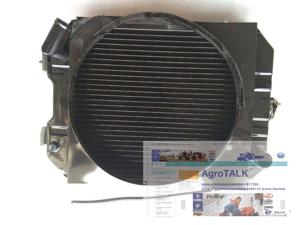 Jinma tractor JM254 284, the radiator for engine Y385T, part number:(China (Mainland))