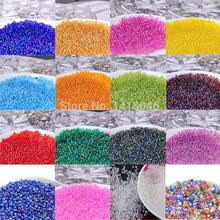 2mm 1500pcs 17 AB colors Czech Glass Seed beads,crystal spacer beads For DIY jewelry handmade BL004-2X