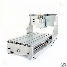 cnc 3020Z desktop cnc engraving machine router lathe bed with ball screw, more precision and smoother DIY frame