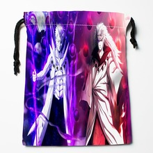 New Arrival Naruto anime Drawstring Bags Custom Storage Printed Receive Bag Type Bags  Storage Bags Size 18X22cm