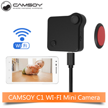 CAMSOY C1 Spied Camera Wifi IP 720P Mini Camera Wearable Motion Sensor Body Camera Micro Bike Camera DV DVR Cam Mini Camcorder