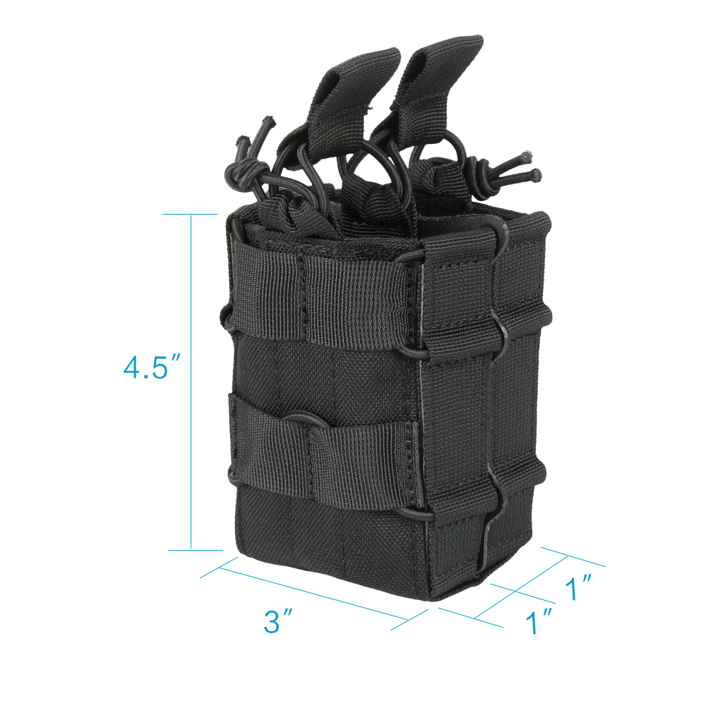 Outdoor Tactical M4 Double Magazine Pouch Hunting Military Molle Ammo Clip Pouch Cartridge Bag Accessori