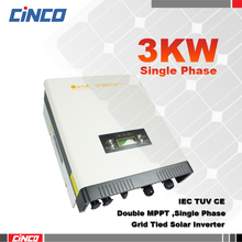 Grid tied inverter,3kw omnik  220VAC 50HZ High efficiency power inverter connected the gird for solar power system