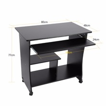 1PC Computer PC Laptop Table Office Workstation Computer Table Corner Home Study Office Furniture