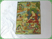 Religious Thangka pharmacist seven Buddha collection crafts(China)