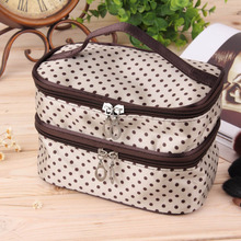 1Pc professional Cosmetic Case bag large capacity portable Women Makeup cosmetic bags storage travel bags