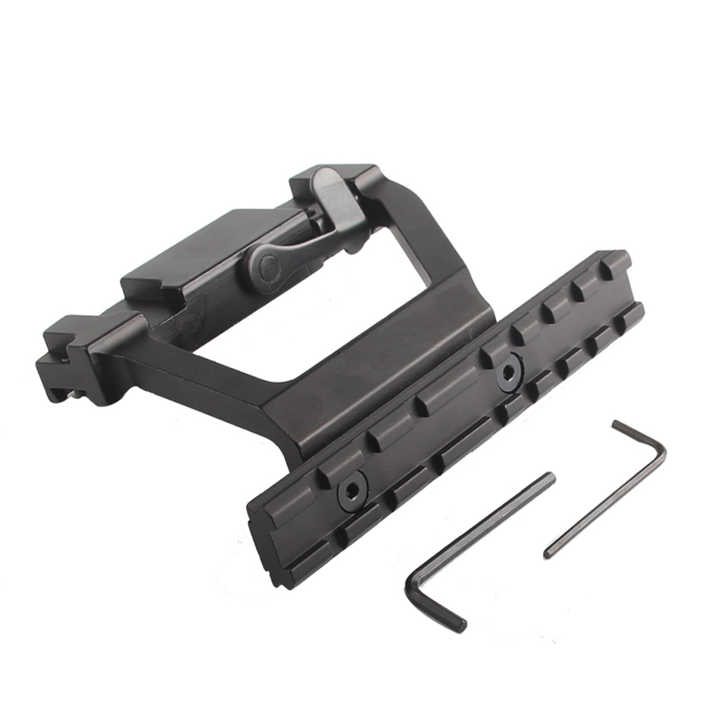 AK Mount 47 74 SVD Side Rail QD Scope Sight Torch Attachment 20mm Airsoft RL2-0022