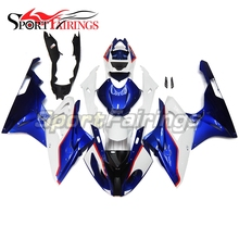 Complete Fairings For BMW S1000RR 15 16 S1000 RR 2015 2016 Injection ABS Motorcycle Plastic Fairing Kit Bodywork White Blue New(China)
