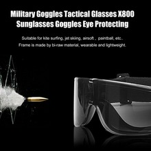 Military Goggles Tactical Glasses Airsoft X800 Sunglasses Eye Glasses Goggles Motor Eyewear Cycling Riding Eye Protecting New