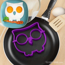 1 Pieces Lytwtw's Hot Sale Lovely BBQ Outdoor Owl Shape Egg Pan Cake Mini Non Stick Pot Fry Cook Kitchen Frying Gift