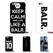 For Samsung Galaxy Note 3 4 5 S4 S5 MINI S6 S7 edge Popular LIFE OF A BALR carbon Logo Soft Silica Gel TPU Case Silicone Cover