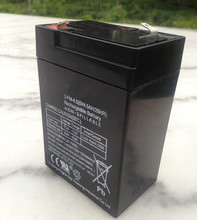 Wholesale Battery 6V 4.5AH 20HR Small Lead Acid Battery Storage Battery Children's Electric Car Battery 6V 4.5ah 4ah