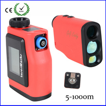 Buy Monocular Telescope Golf Laser range Distance Meter Rangefinder 1000m Range Finder disply Angle measurement hunting Co., Ltd.) for $146.88 in AliExpress store