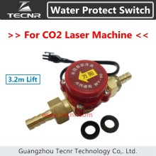 3.2m Lift Water Flow sensor Switch Water Protect Switch  8mm for CO2 Laser Cutting Engraving Machine Parts WY-90
