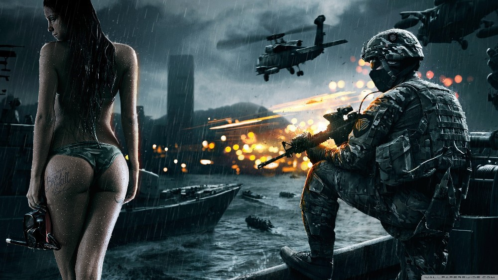 D6 Battlefield 4 good day for a dive Wallpaper New Wall Art Huge Wide Games Posters 50x75cm Free Shipping(China (Mainland))