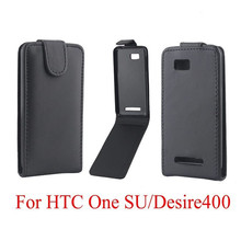 Phone Bags Cover For HTC Desire 400 phone case Back coque PU leather Flip Vertical Up-Down Open skin pouch