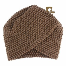 NEW Women's Knitted Beanie Headband Crochet Headwrap Luxury Divas Winter Knit Turban Head wrap Twist Hijab Turbante