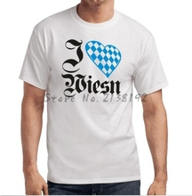 I Love Wiesn | Oktoberfest | Munchen | Bayern | Wiesn | S-XXL T-Shirt men's top tees