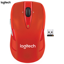Logitech M546 Wireless Mouse Gaming Laptop PC Gamer Mini Mice 1000dpi Optical Ergonomic Computer Mouse Genuine Unifying Receiver