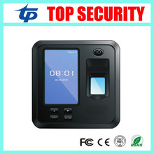 TCP/IP color screen biometric fingerprint door access control system standalone fingerprint time attendance with free software