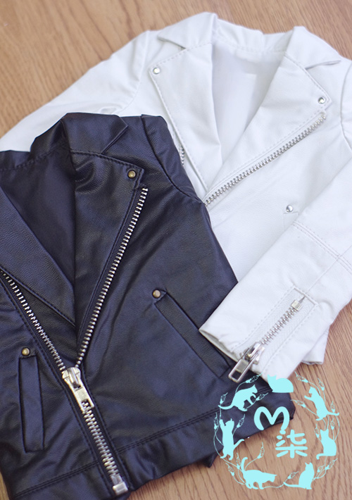 SD13 SD17 PU Leather jacket Coat For BJD SD Doll Clothes Accessories<br>