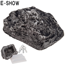 E-SHOW 1PCS Creative Outdoor Muddy Mud Spare Key box House Safe Hidden Hide Security Rock Stone Case Box(China)