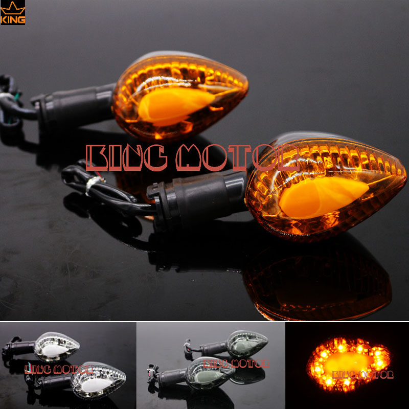 Hot Sale Motorcycle Accessories Blinker LED Turn Signal Indicator Light Amber For YAMAHA YZF R1 YZF R6<br>