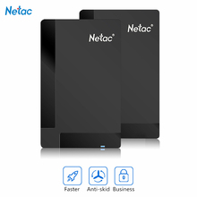 Original Netac K218 External Hard Drive 1TB 500GB HDD USB 3.0 Externo Disco HD Disk Storage Devices Laptop Desktop Hard Disk 1tb