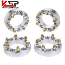 KSP 4Pcs 1.5'' 38mm Wheel Spacers Adapters 6x5.5 To 6x139.7 6 Lug 12X1.5 Studs For Toyota Tacoma 4Runner Tundra FJ Land Cruiser(China)