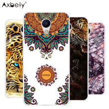Cover For Fundas Meizu M5 Case Transparent Silicone Soft TPU Cover Cat Dog Folwer Case For MEIZU M 5 5.2 DIY Plastic Phone Case
