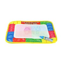 29X19cm 4 color Mini Water Drawing rug &1 Magic Pen/Water Drawing board / baby play mat