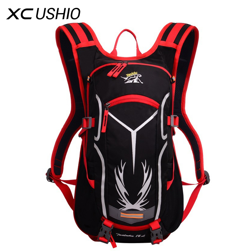 18L Waterproof Outdoor Sport Bicycle Backpack Ultralight Bike Riding Travel Mountaineering Hydration Water Bag Large Capacity<br><br>Aliexpress