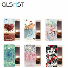 GLSHST Soft Super Thin TPU Case Love tree Phone Cases For Xiaomi Hongmi Redmi 3X dust proof mobile phone back shell