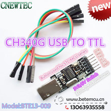 1PCS CH340G Serial Converter USB 2.0 To TTL 6PIN Module for PRO mini Instead of CP2104 CP2102 PL-2303HX support 5v/3.3v(China)