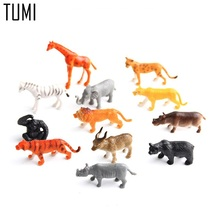 Tumi 12PCS/lot Cute Rare PVC Littlest Pet Shop animals Action & Toy Figures Children's DIY Zoo Play toys/gifts for kids  D070