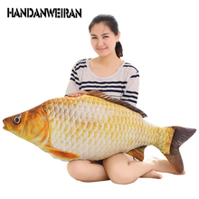 HANDANWEIRAN 3D Print fish Pillow Plush Animal Fish Toy little Stuffed Dolls for Baby&Kids&children as Gifts Wholesale+retail