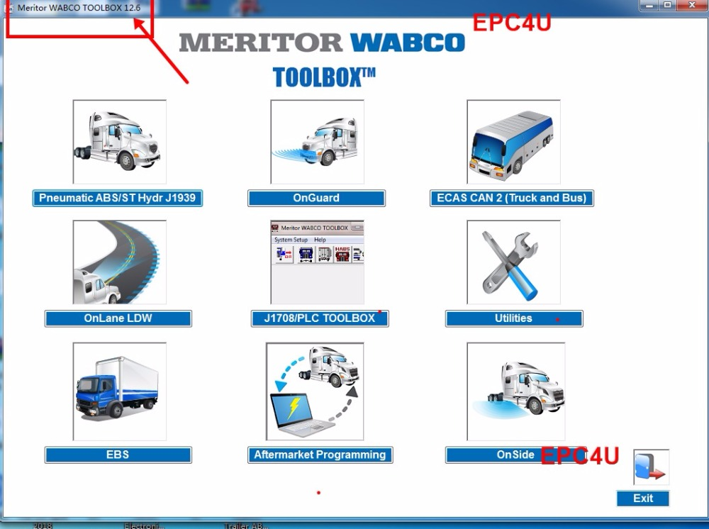 2018 Meritor Wabco Toolbox 12 6 1 Patch Unlimited Install