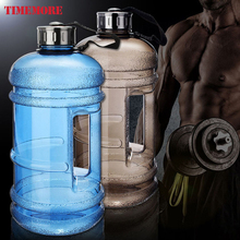 2.2L Large Capacity Outdoor Sports Gym Water Bottles Half Gallon Fitness Training Camping Running Workout Water Bottle