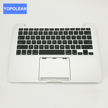 "3pcs/lot Brand New Laptop Palmrest Top Case With US Keyboard For Macbook Pro Retina 13"" A1425 MD212 MD213 2012 Year(China)"