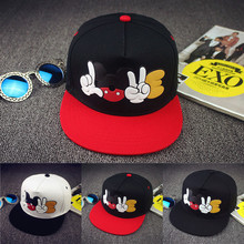 2017 Summer Cartoon Unisex Mickey Baseball Caps Adjustable Snapback Mouse Hat Hip Hop Cap Sun Hats Bone Men Women Casquette W148