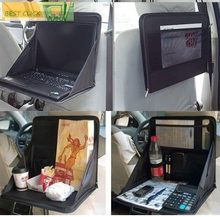 Accessories Car Back Seat Laptop Holder Tray Bag Mount Food Table Work Desk Organizer Travel Dinning Phone